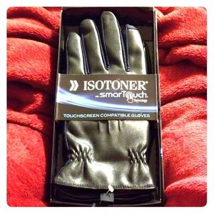 😎 Men's Isotoner Gloves in a box